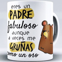 Taza detalle para papas, originales y exclusivas