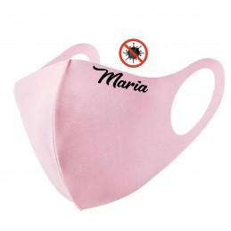Mascarilla rosa personalizada Reutilizable con 2 filtros y