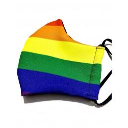 Smart Casual Mascarilla Orgullo Gay personalizada