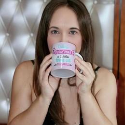 Super taza de amor-quiero desayunar contigo-regalo pareja