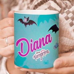 Taza Vampirina personalizada