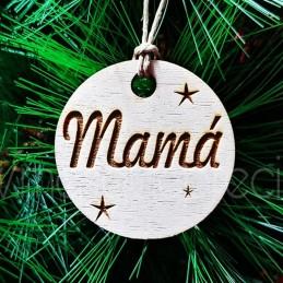Decoración adorno y marca sitio para navidad o eventos,de madera