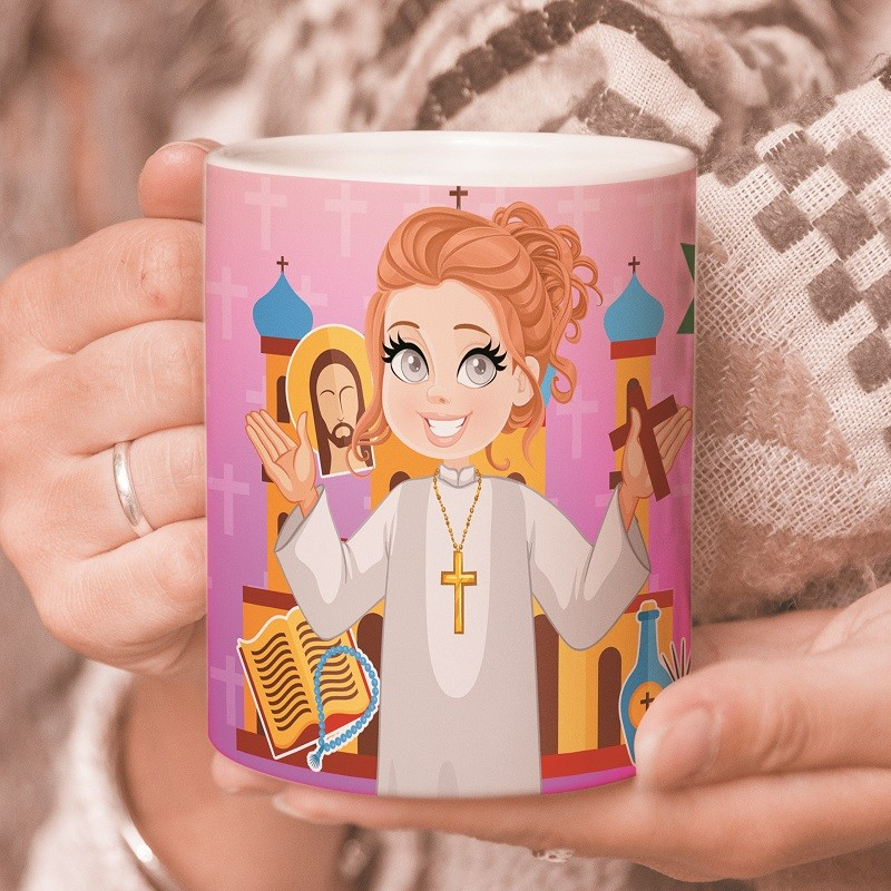 Taza para catequistas regalo catequesis