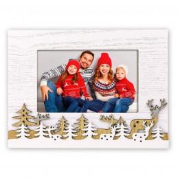 Marco Navidad con tu foto personalizada de 10 x 15 cm