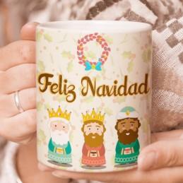 Taza navidad reyes magos