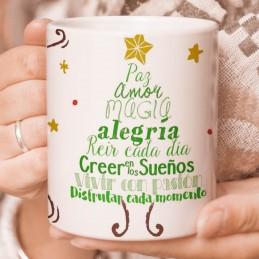 Taza regalo Navidad