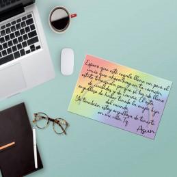 Añade una nota a tu pedido y dale una sorpresa