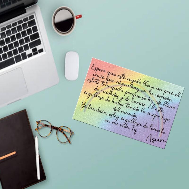 Añade una tarjeta a tu pedido y dale una sorpresa,incluye sobre