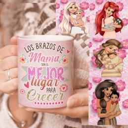 Taza regalo mamás princesas-elige la princesa, día de la madre