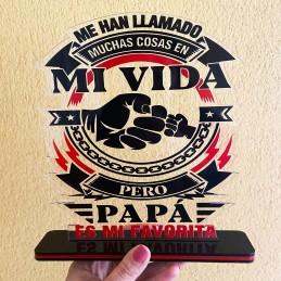 Regalo trofeo para papas y abuelos