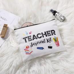 Estuche neceser de maquillaje para teacher