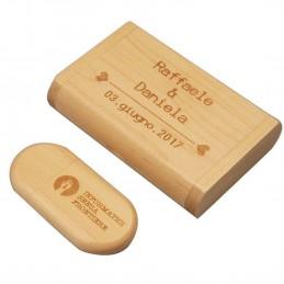 Pen drive personalizado USB 8GB + estuche a juego