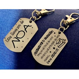 Llaveros Identificadores para Mochilas o llaves, ideal regalo profes a alumnos