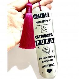Marca paginas acero inoxidable especial Catequistas-comunión
