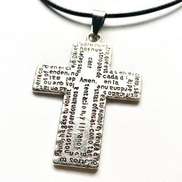 Colgante cruz religiosa, ideal regalo catequistas y parrocos