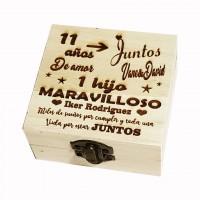 Cajas de madera personalizadas - Caja guarda dientes